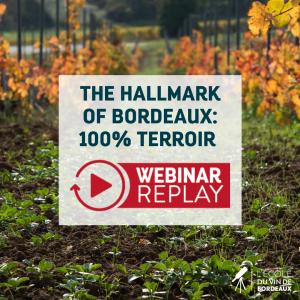 The Hallmark of Bordeaux: 100% terroir webinar replay
