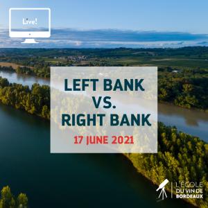 left bank versus right bank webinar May 17. 2021