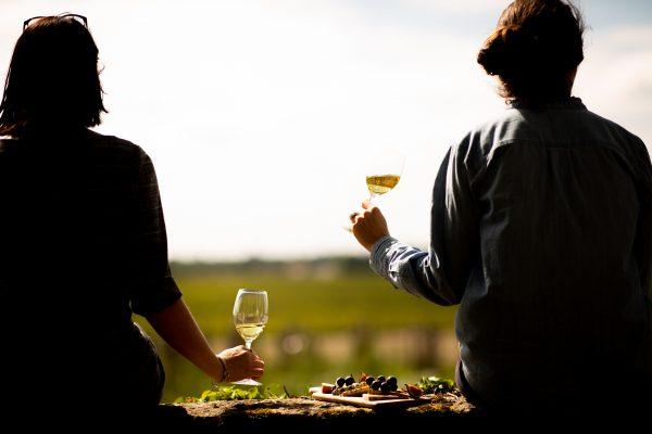 People drinking sweet wine