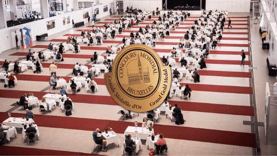Concours mondial de Bruxelles 2020