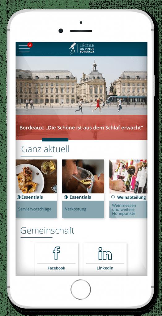 OenoBordeaux Wein-Lern-App - Screenshot 1
